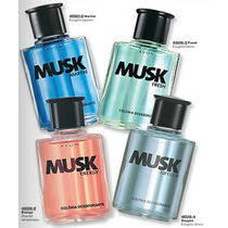 Musk Marine Oxygen Fresh Energy Colônia Desodorante Avon