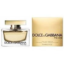 Perfume Feminino Dolce & Gabbana The One 75ml Edp - Original