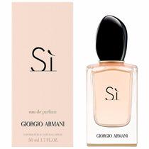 Si De Giorgio Armani Feminino 50ml Edp - Original A120