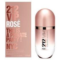 Perfume Carolina Herrera 212 Vip Rosé Fem Edp 80ml