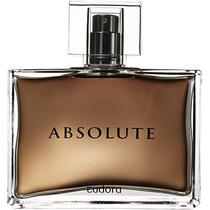Absolute Deo Colônia Perfume Fragrância Homem Eudora 95 Ml