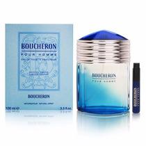 Perfume Boucheron Pour Homme Fraicheur Edt Masculino 100ml