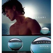 Perfume Masculino Bulgari Aqva 100ml Importado Usa