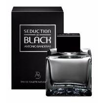 Perfume Seduction In Black 100ml Edt Antonio Bandeiras Masc
