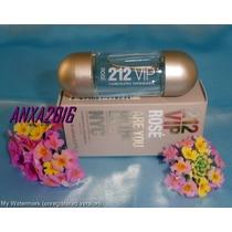 Miniatura Perfume 212 Vip Rose Ch Linda!