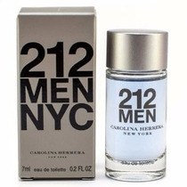 Miniatura Perfume 212 Men Nyc 7ml Masculino Carolina Herrera