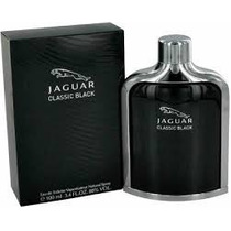 Perfume Jaguar Classic Black For Men Edt 100ml.frete Grátis