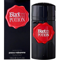 Perfume Paco Rabanne Black Xs Potion Edt Masculino 100ml