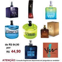 Perfumes Deo Colônia Yes Cosmetics 100 Ml Masculino Promoção