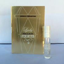Amostra Perfume Paco Rabanne Lady Million Eau My Gold Edt