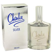 Perfume Feminino Charlie Silver By Revlon 100ml Edt Original