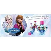 Kit Disney Frozen Avon 1 Colônia 70ml + 2 Brilhos Labiais