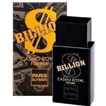 Perfume Billion Casino Royal Paris Elysees - Silver Scent