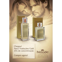 Perfume 100% Original Hinodé Traduções Gold Importados 100ml