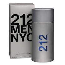Perfume 212 Men C.herrera Nyc 100 Ml Eau De Toilette