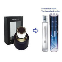 Perfume Masculino 50ml - Up! 05 - Bulgari Black Por R$ 89,90