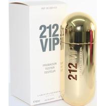 Perfume 212 Vip Fem Carolina Herrera 80ml Edp Orignal Tester