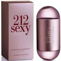 Perfume 212 Sexy Feminino Carolina Herrera 100ml Usa