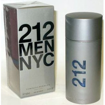 Perfume 212 Nyc Men 100ml Original, Lacrado.