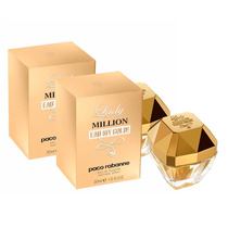 Kit 2 Perfumes Paco Rabanne Lady Million Eau My Gold 30ml