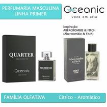 Perfume Quarter Masculino - Frag. Abercrombie & Fitch Man