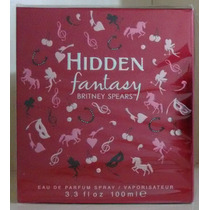 Fantasy Hidden Feminino Edp 100 Ml Britney Spears Original