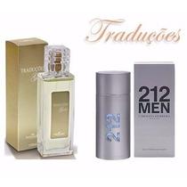 Perfumes Traduções Gold - Fragrância 212 Vip Men 100 Ml