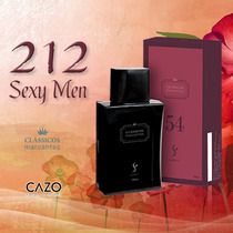 212 Sexy Men - Perfume Cazo 54 - Clássicos Marcantes [100ml]