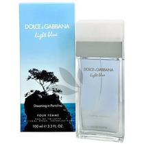 Light Blue Dreaming In Portofino D&g 100ml Perfume Feminino