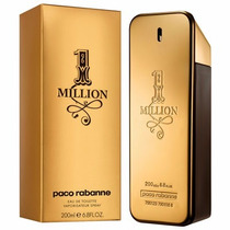 Perfume One 1 Million Paco Rabanne 200ml + Amostra De Brinde