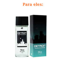 Perfume Bless Detroit Família Olfativa: Uomini