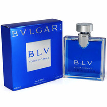 Perfume Blv Pour Homme 100ml Bvlgari Made In Italy Original!