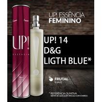 Perfume Importado Up!14 - Fragrância D&g Light Blue Fem.+br.
