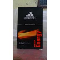 Colônia Desodorante Adidas Deep Energy 100ml