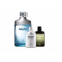 Kit Natura Kaiak Clássico- Colônias: Clássico, Extremo, Urbe