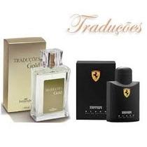 Perfume Hinode Traduçoes Gold 28 - Ferrari Black - 100 Ml
