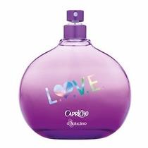Perfume Colonia Capricho Love Boticario 100ml Com Brinde!