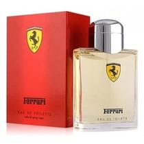 Perfume Ferrari Scuderia Red 125ml Masc Edt Original Lacrado