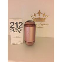 Perfume 212 Sexy Feminino 100 Ml - Tester - Fotos Reais -