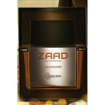 Zaad Visionaire Eau De Parfum 95ml Original Lacrado + Brinde