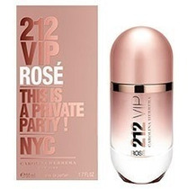 Perfume 212 Vip Rosè Feminino 80ml Original Lacrado