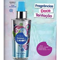 Avon Hmmmm Candy Berry Pop Desodorante Colônia Spray 150ml