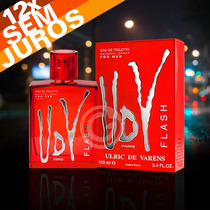 Perfume Udv Flash For Men 100ml Ulric De Varens Original !!!