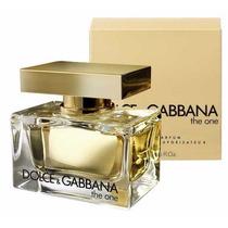 Eua De Parfum The One D&g Feminino 50ml Original