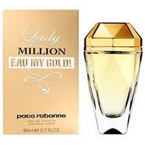 Paco Rabanne Lady Million Eau My Gold! Feminino Edt (80ml)