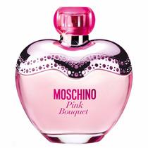 Perfume Feminino Moschino Pink Bouquet Eau De Toilette 100ml