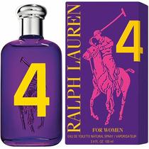 Perfume Polo Big Pony Purple #3 Fem Ralph Lauren Edt 50ml