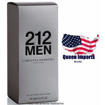 Perfume 212 Men 100ml Masculino 100% Original Fragrância