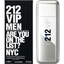 Perfume 212 Vip Men 100ml - Edt Novo. - Original Na Caixa.