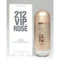 Perfume 212 Vip Rose Edp 80ml Tester Original